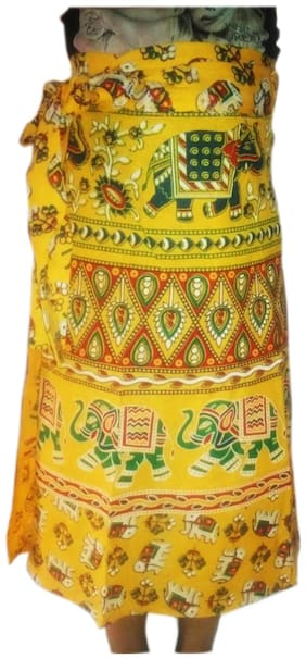 Printed Ethnic Skirt Pack of 1