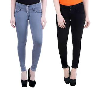 katvon Women's Denim skinny Fit Jeans
