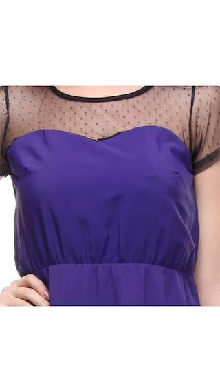 Purple K Kaxiaa for Dress 786B Solid Women RPzwzn7q
