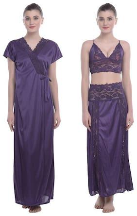 Women Lace Nightdress ,Pack Of 3