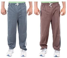 KETEX Men Cotton Track Pants - Multi