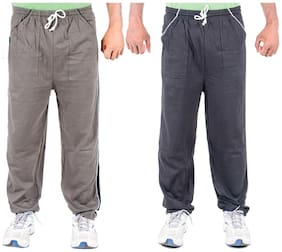 Regular Fit Blended Track Pants