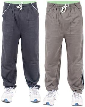 Men Blended Pyjama ,Pack Of 2