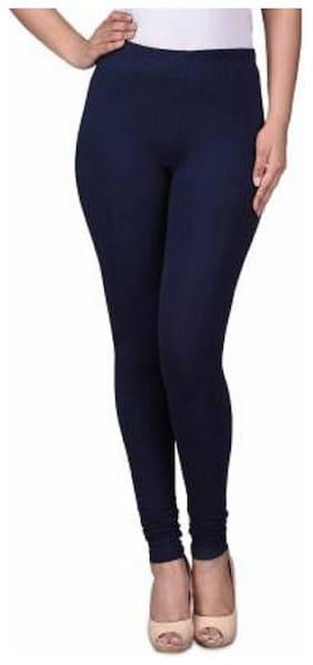 KEX Churidar Legging ( Blue;Solid)