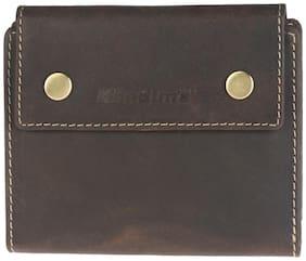 Khadim's Brown Single-fold Wallet