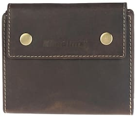 Khadim's Brown Single-fold Wallet