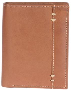 Khadim's Brown Bi-fold Card Holder