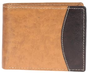 Khadim's Brown Bi-fold Wallet