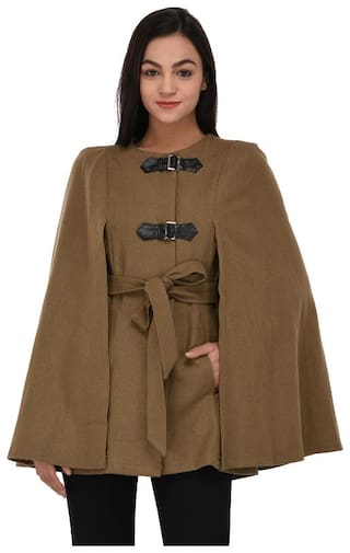 Owncraft Blended Poncho - Brown