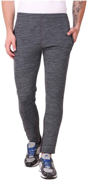 Killer Men Polyester Blend Track Pants - Grey