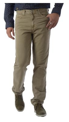 Killer Men's Mid Rise Slim Fit Jeans - Beige