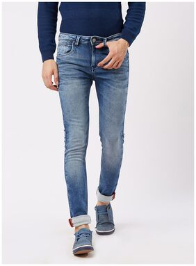 Killer Men Mid Rise Slim Fit ( Slim Fit ) Jeans - Blue