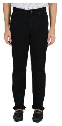 Killer Men's Mid Rise Slim Fit Jeans - Black