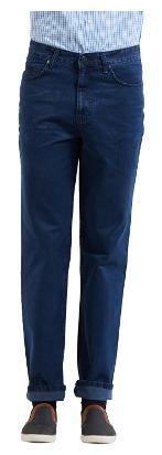 Killer Men's Mid Rise Slim Fit Jeans - Blue