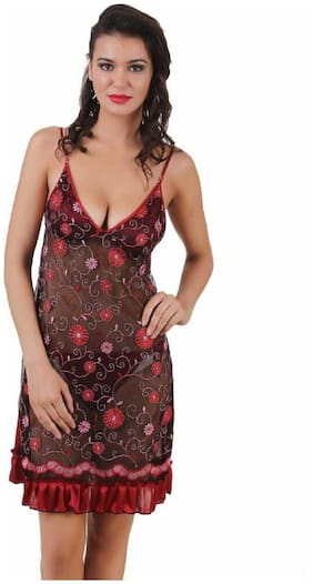 Embroidered Baby Doll