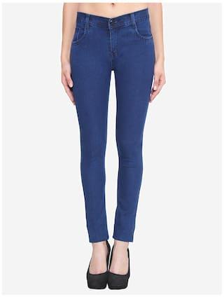 Blue Klick2Style Streachable Fit Ladies Slim Jeans Xxv6qHxwT