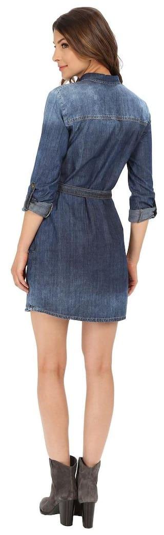 for Look Ulitame Heavy Dress Denim Klick2Style HWOzptq