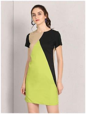 Women Colorblocked Dress
