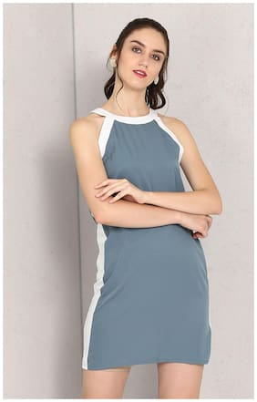 Women Colorblocked Dress