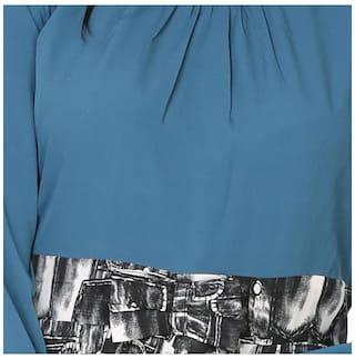 Dress Bow with Klick2Style Printed Peplum z4xRPR