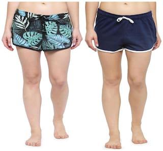 Kotty Women Printed Sport shorts - Multi