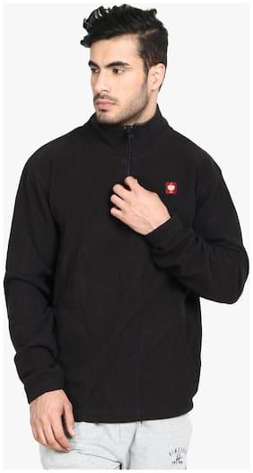 Kotty Men Cotton Sweater - Black