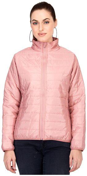 Kotty Women Solid Regular Jacket Jacket - Pink