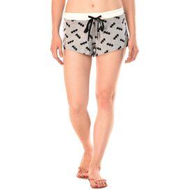 Kotty Women Printed Shorts - Grey