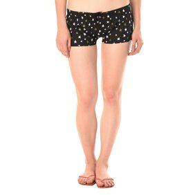 Kotty Women Printed Shorts - Black