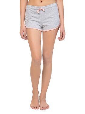 Kotty Women Solid Shorts - Grey