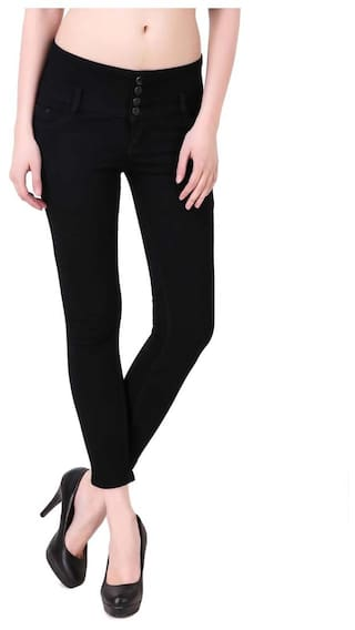 Kritika's Denim Lycra Jeans For Women