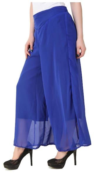 Georgette Plazzo Fashion New Women Kritika's for HCqfFnw