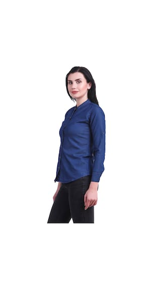 For Denim Shirt Women New Kritika's Jean qCwFHnn8