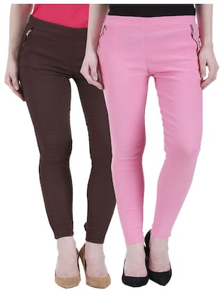 Kritika's Jagging Cotton Newfashion women Lycra for 66qPx8Y