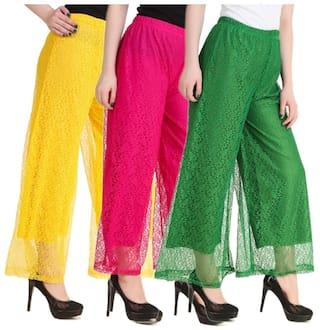 Kritika's New Fashion Net Plazzo For Women