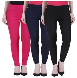 Kritika's Newfashion Cotton Lycra Jagging for women