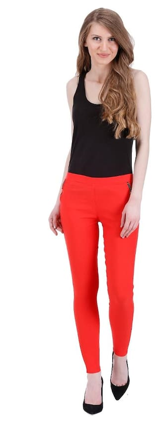 Cotton for Jagging women Lycra Newfashion Kritika's 5qYAg