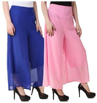 Kritika's New Fashion Georgette Plazzo for Women