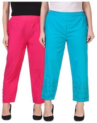 new for stylish plazzo women Kritika's button R0ZdwZq