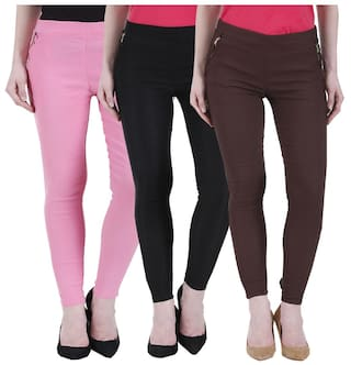 Kritika's Newfashion Cotton Lycra Jagging for women