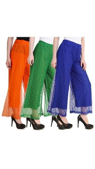 New For Kritika's Women Net Fashion Plazzo FwRqz6RP