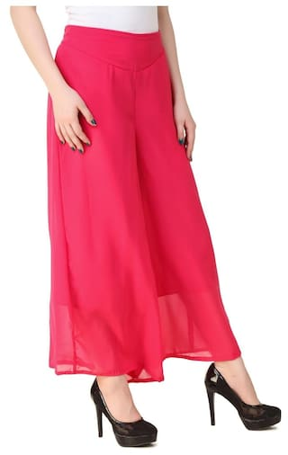 Women New Plazzo Fashion Kritika's Georgette for 1qgqOv