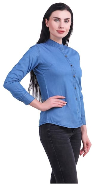 Denim Shirt For Women Jean Kritika's New 8qOS5xU