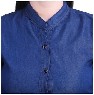 Kritika's Women Shirt Jean Denim For New BZwCBqxS