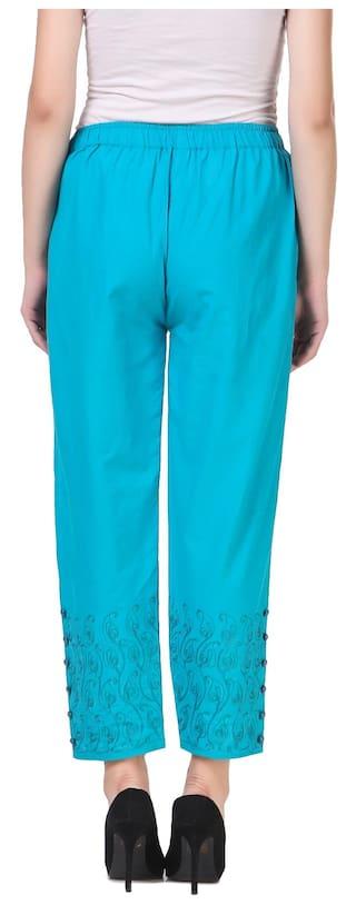 new for stylish plazzo button Kritika's women dqPUxd
