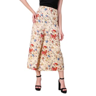 fashion Plazzo World Kritika Women's Printed YRnqE