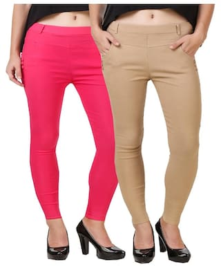 cotton for New World lycra jegging women Kritika gwTOEqq