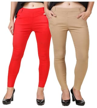 Kritika World New cotton lycra jegging for women