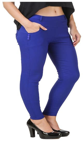 Kritika lycra New women jegging cotton World for n87x6qan