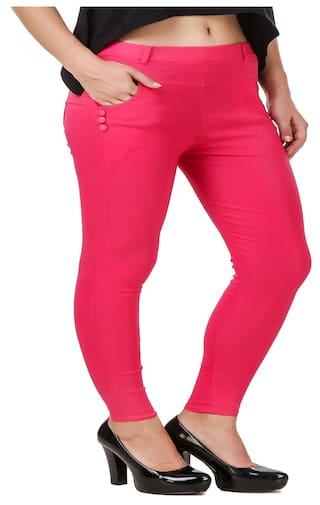 jegging Kritika World New lycra women for cotton 66FIqwS